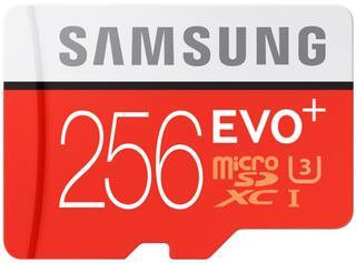 Карта памяти Samsung EVO Plus microSDHC 256 Гб