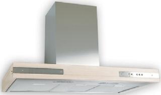 Вытяжка каминная Elikor Патио 90Н-650-К3Л серебристый