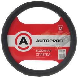 Оплетка на руль AUTOPROFI AP-300 черный