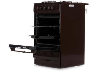 Комбинированная плита Hansa FCMB53050 коричневый