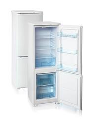 Холодильник с морозильником Бирюса 118 белый