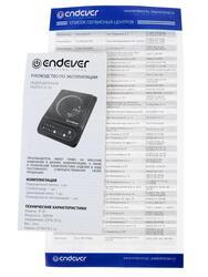 Плитка электрическая Endever SkyLine IP-30 черный