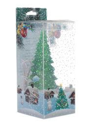 Светильник декоративный Orient Ледяная елка зеленый