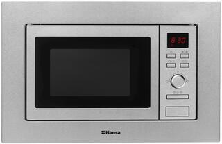 Встраиваемая микроволновая печь Hansa AMM20BEXH серебристый