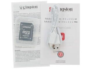 Портативный аккумулятор Kingston MLWG3 белый