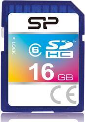 Карта памяти Silicon Power SP016GBSDH006V10 SDHC 16 Гб