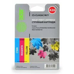 Набор картриджей Cactus CS-CLI426C/M/Y