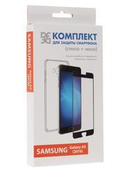 Накладка + защитное стекло  DF для смартфона Samsung Galaxy A5 (2016)