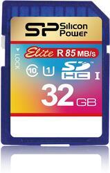 Карта памяти Silicon Power Elite SDHC 32 Гб