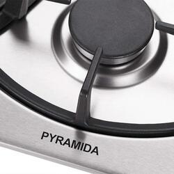 Газовая варочная поверхность Pyramida PFA 640 INOX LUXE
