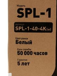 Светодиодная панель ЭРА SPL-1-40-4K