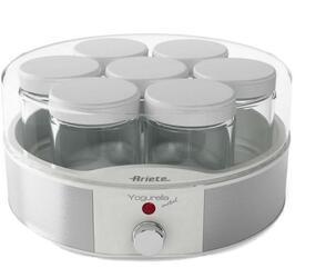 Йогуртница Ariete 620 Yogurela белый, серебристый