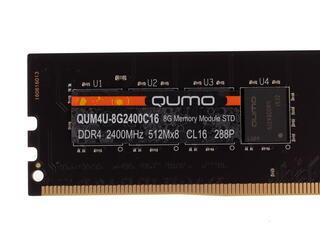 Оперативная память Qumo [QUM4U-8G2400C16] 8 ГБ
