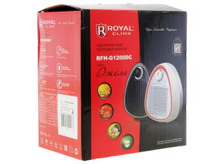 Тепловентилятор Royal Clima Gela RFH-G1200DC-BL