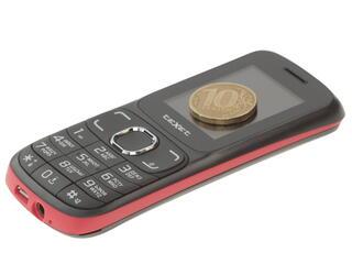 Сотовый телефон Texet TM-125 черный