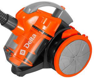 Пылесос DELTA DL-0826 оранжевый