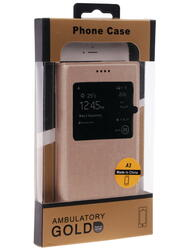 Чехол-книжка  Remax для смартфона Samsung Galaxy A3 (2015)