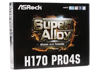 Материнская плата ASRock H170 PRO4S