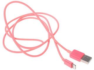 Кабель Qumo USB - MFI Lightning 8-pin розовый