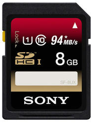Карта памяти Sony SF8UXT SDHC 8 Гб
