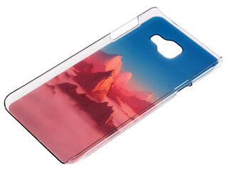 Накладка + защитная пленка  Deppa для смартфона Samsung Galaxy A7 (2016)