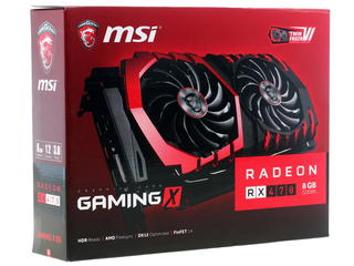 Видеокарта MSI AMD Radeon RX 470 GAMING X [RX 470 GAMING X 8G]