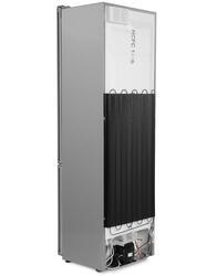 Холодильник с морозильником Candy CKBN 6200 DS серый