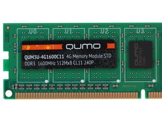 Оперативная память Qumo [QUM3U-4G1600С11] 4 ГБ