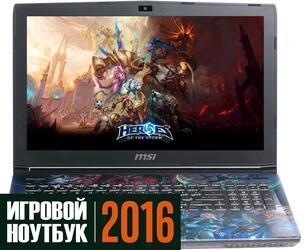 "15.6"" Ноутбук MSI GE62 6QD-243RU черный"