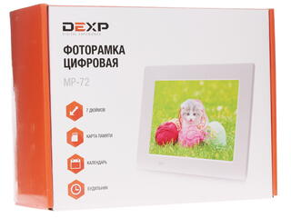 7'' Фоторамка DEXP MP-72