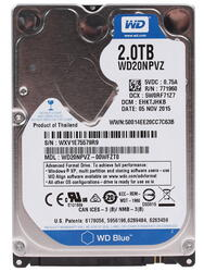 Жесткий диск WD Blue WD20NPVZ 2 ТБ