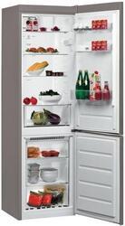 Холодильник с морозильником WHIRLPOOL BSNF 8121 OX серебристый