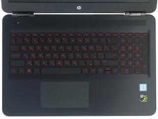 """15.6"""" Ноутбук HP Omen 15-ax007ur черный"""