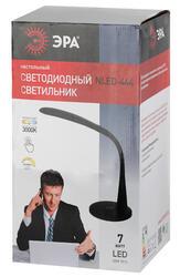 Настольный светильник ЭРА NLED-444-7W-BK черный