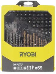 Набор сверл и насадок-бит Ryobi RAK 69MIX