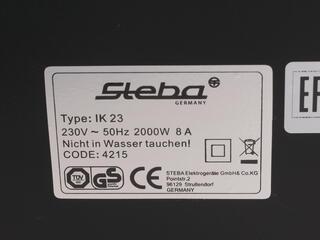 Плитка электрическая Steba IK23 черный