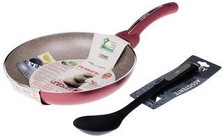 Сковорода Pensofal PEN5203 + Ложка KAРB0103 красный