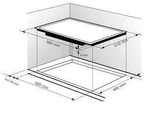 Электрическая варочная поверхность Zigmund & Shtain CIS 189.60 BK