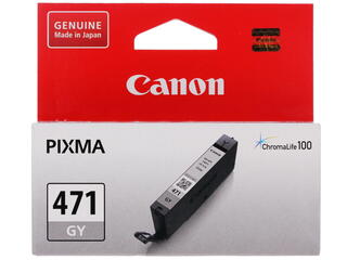 Картридж струйный Canon CLI-471GY