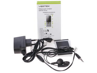 Сотовый телефон Vertex D510 серебристый
