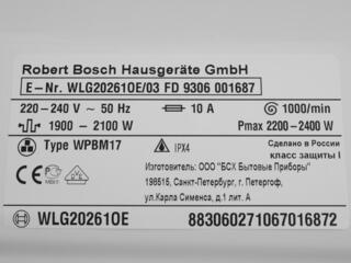Стиральная машина Bosch WLG20261OE