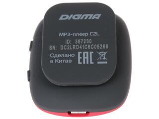 MP3 плеер Digma C2L красный