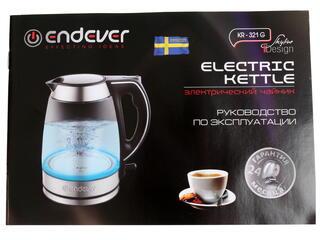 Электрочайник Endever Skyline KR-321G черный