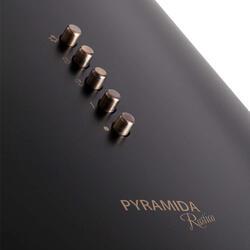 Вытяжка каминная Pyramida BR60/B BLACK RUSTICO черный