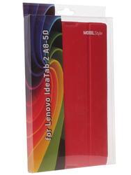 Чехол-книжка для планшета Lenovo Tab 2 A8-50 красный
