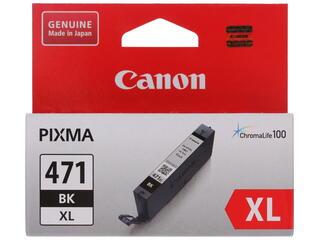 Картридж струйный Canon CLI-471BK XL