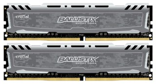 Оперативная память Ballistix Sport LT [BLS2K16G4D240FSB] 32 ГБ
