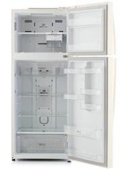 Холодильник с морозильником LG GC-M502HEHL бежевый