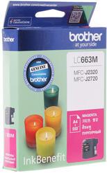 Картридж струйный Brother LC-663M