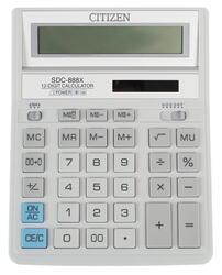 Калькулятор бухгалтерский Citizen SDC-888XWH